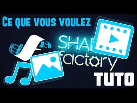 SHAREfactory 2017+ - Comment mettre N'IMPORTE QUELLES images, musiques et vidéos sur ses montages ?