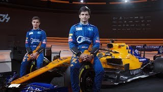 Mclaren Show Off Dramatic New Mcl34 | 2019 Formula 1 Launches