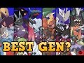 Which Generation of Pokemon is the BEST?! (Top 6)