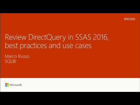Review DirectQuery in