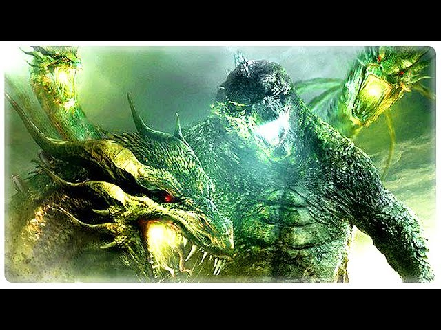 GODZILLA KING OF THE MONSTERS Trailer Teaser (2019) Action Movie HD