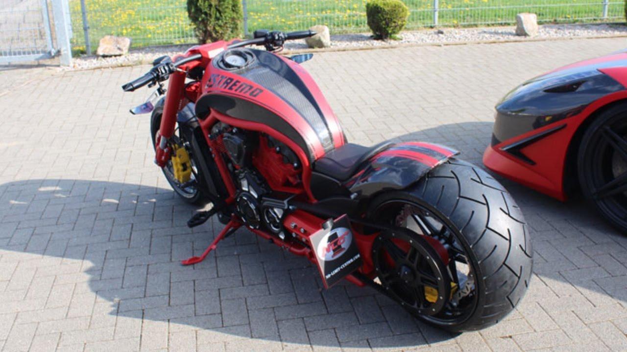 Motorcycle tuning - custom Harley Davidson