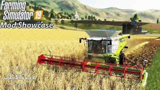 Farming Simulator 19 | Mod Showcase - Claas Lexion 700 Series Pack | Combines - Today we are having a look at the Lexion 700 Pack by *don't forget to fill in* featuring the 776, 770, and 780 Lexion with headers. #Claas #FS19 #ModShowcase Get the Mod here