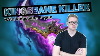 Hearthstone   Kingsbane Killer   Wild Kingsbane Rogue   Rastakhan's Rumble   Legend Gameplay