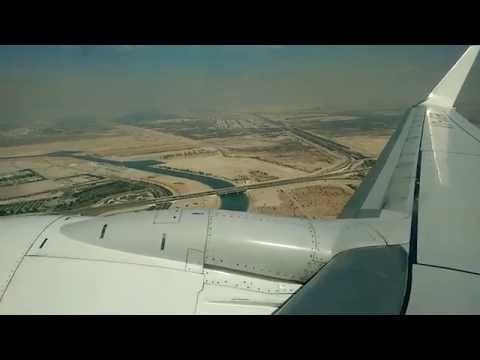 Jet Airways B737 800 takeoff from Abu Dhabi !!!!! (HD)