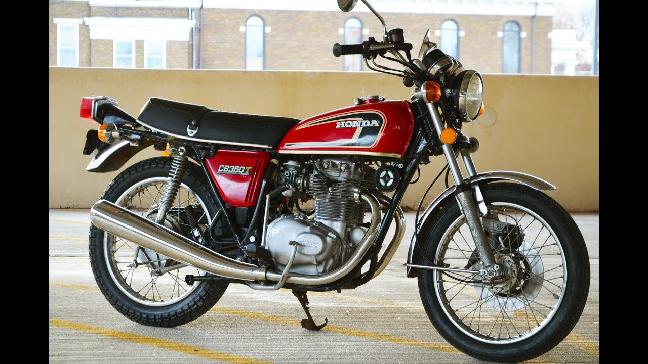 1975 Honda Cb360t 5k Original Miles - Sold
