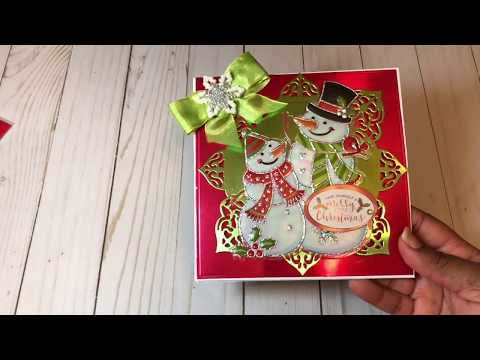 Quick Christmas Cards Using Dollar General Stickers