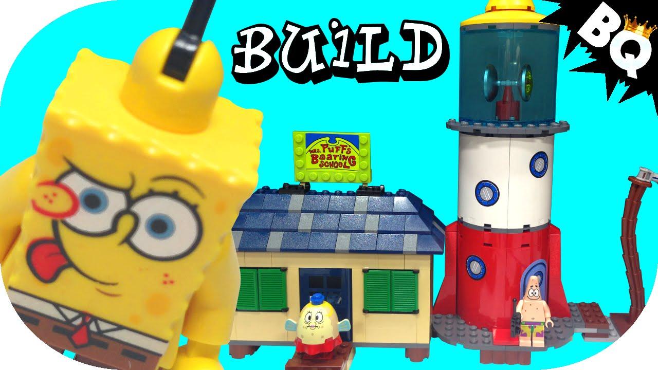 Lego Spongebob Squarepants Mrs Puffs Boating School 4982 Flash
