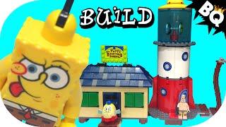 Lego Spongebob Squarepants Mrs. Puff's Boating School 4982 Flash Speed Build