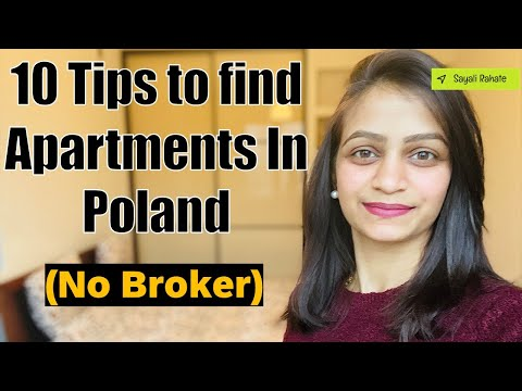 10 tips to Find Apartments (No Broker)   Is Poland good place to live    Can you move to Poland  🇵🇱