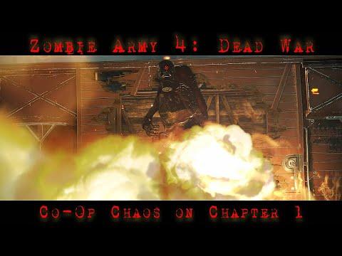 Zombie Army 4: Dead War | Dead Ahead | Co-Op Play | Xbox One X