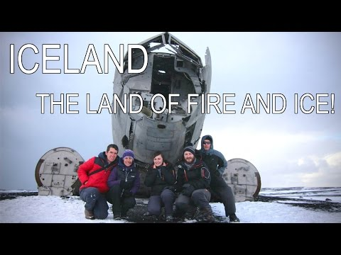 Iceland - the land of fire and ice!