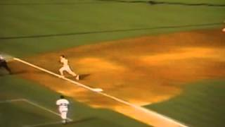 """Houston Astros"" ""Ken Caminiti"" Collides With Security Guard Chasing Pop Fly!"