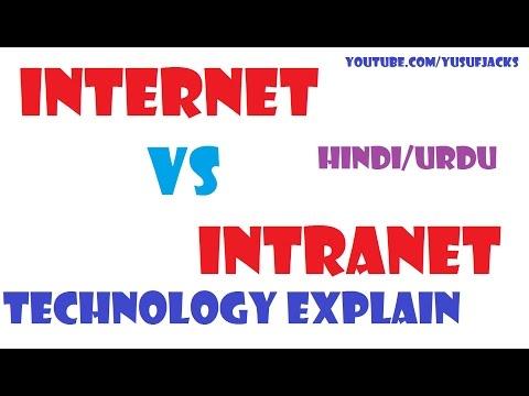 Internet vs Intranet Technology Explain |Hindi/Urdu|