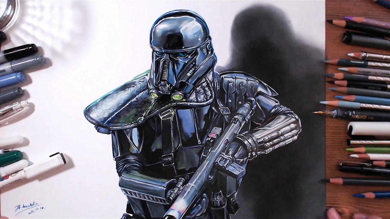 Rogue One A Star Wars Story Death Trooper Drawholic