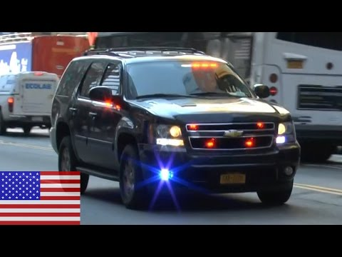[NEW YORK CITY] United States Secret Service SUV responding in  Midtown