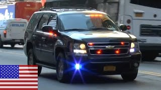 [NEW YORK CITY] UNITED STATES SECRET SERVICE SUV RESPONDING IN MIDTOWN.