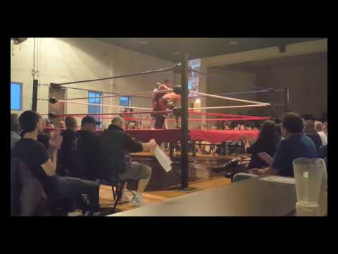 MIAW Wrestling Over 9000 Dave Soul vs The Prince of Lucha