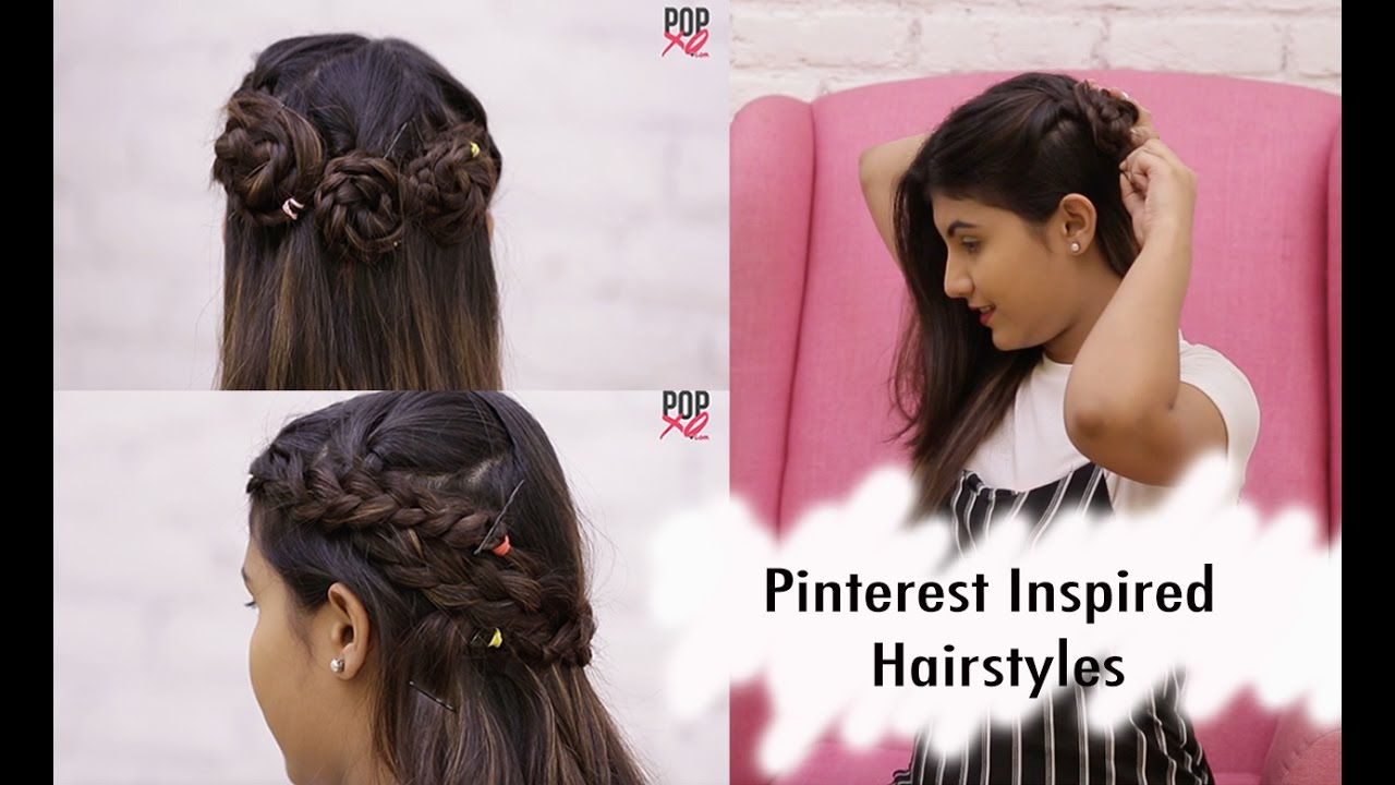 pretty & easy pinterest hairstyles | make cute hairstyles with popxo