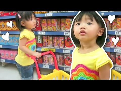 1 year Old Bug Doing Grocery Shopping | Supermarket Song