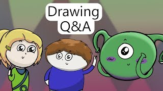Q&A with Dingo, Jess, and Puffin || Drawing Each Other's Characters