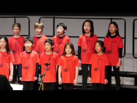"KIMEA Chorus Festival 2016, Dwight School Seoul's Lower School Chorus, ""Believe"" (Lin Marsh)"