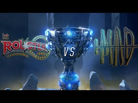KT vs MAD | Worlds Group Stage Day 7 | kt Rolster vs MAD Team (2018)