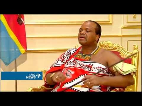 SABC Exclusive Interview with King Mswati: 02 October 2016