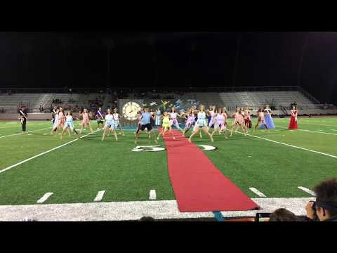 Santiago High School-Dance Team Homecoming 2018