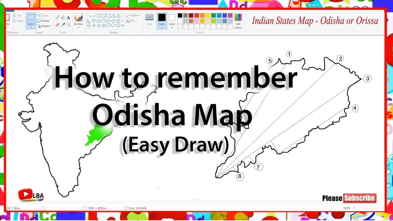 How to remember Odisha Map l Indian States l LearnByArts Indian States Map Odisha on india map, jajpur map, sikkim map, east coast road trip map, gujarat map, bhubaneswar map, chhattisgarh map, bhadrak map, rajasthan map, himachal map, bihar map, nepal map, tamil nadu map, bangladesh map, orissa political map, jharkhand map, karnataka map, pakistan map, maharashtra map, assam map,