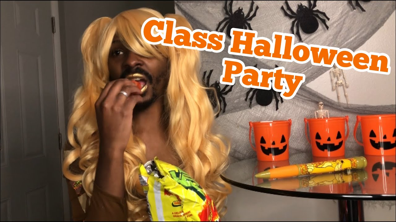 When you have A CLASS HALLOWEEN PARTY