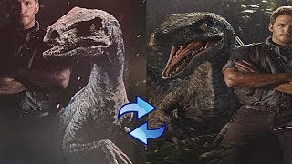 Distinct Changes in Blue's Appearance - Becoming Skinnier | Jurassic World Fallen Kingdom