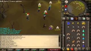 Mystery Book/Uniqu3Pk First ever Ags Pk video released on Old School RuneScape