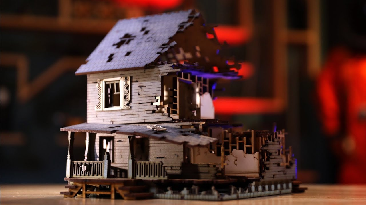 Building Laser-Cut Miniature Wargaming Terrain Kits!