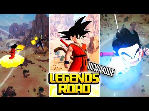 NEW Legends Road Game Mode + FREE Sparking Kid Goku | Dragon Ball DB Legends