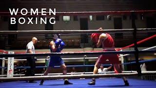 Women white collar boxing - York Hall - London 22 June 2017