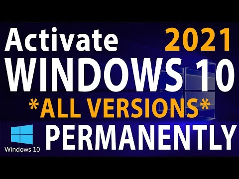 How to Activate Windows 10 PERMANENTLY 2019 | Under 2 minutes (All versions)