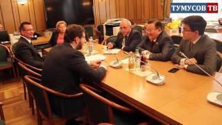 Федот Тумусов провел встречу депутатов фракции СР с руководителем ФАДН Игорем Бариновым