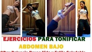 Entrenam.169, Ejercicios para abdomen bajo- Exercises for lower abdomen - fitness