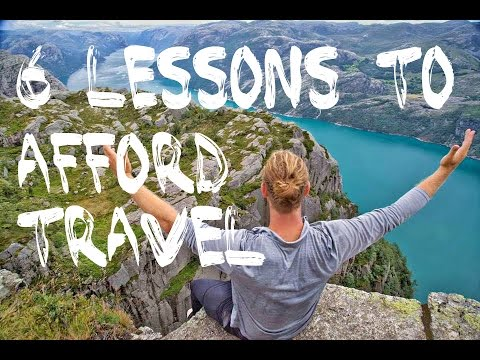 TRAVEL LESSONS THAT WILL GROW YOUR BANK ACCOUNT...