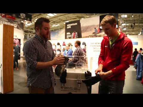ISPO 2018 - Outdoor Research - Bitter Blaze Men's Glove & Ouray Women's Glove