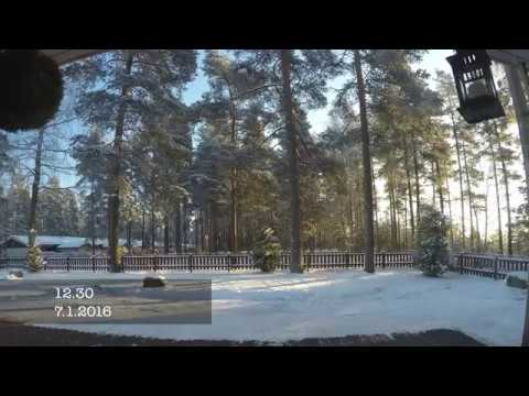 Difference - Lenght of day in summer and winter in southern finland (timelapse 4K / UHD)