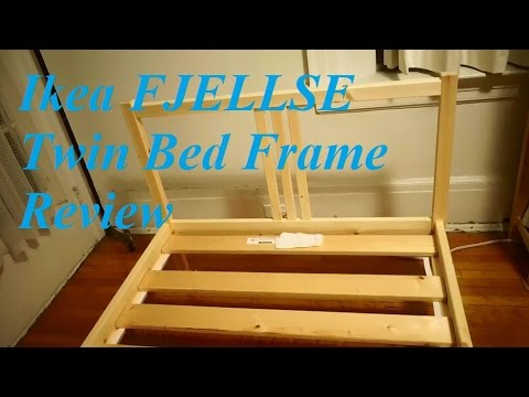 review ikea fjellse twin bed frame
