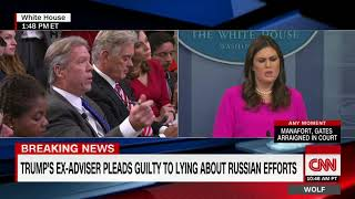 White House answers Manafort questions (full briefing)