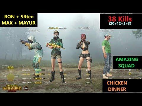 "[Hindi] PUBG Mobile | ""38 Kills"" With Fun Gameplay & Amazing Chicken Dinner"