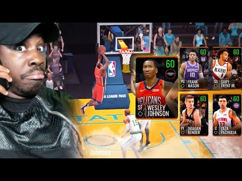 BEATING 103 OVR TEAM WITH BRONZE LINEUP! NBA Live Mobile 19 Season 3 Ep. 130