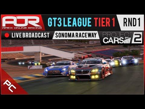 Project CARS 2 | AOR GT3 League | PC Tier 1 | S10 | R1: Sonoma