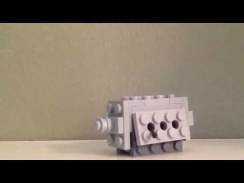 Lego mini a7v heavy tank pt.3