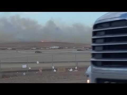 Airdrie grass fire 2017