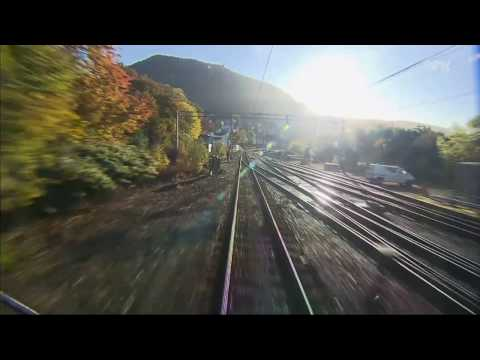 [7:14 Hours] Norway Train Trip from Bergen to Oslo (Nordlandsbanen) [1080HD] SlowTV